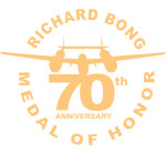 70th Anniverssary MOH logo