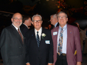 John Dorcey (left), Dick Knutson, and Jim Martin