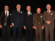 Previous inductees attending the 2004 ceremony