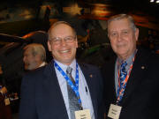 WAHF member/supporters Pete Drahn (left) and Dick Murray