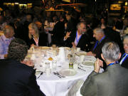 Banquet guests join WAHF member Dr Richard Lemmon