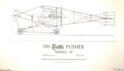 Curtiss Model D plans cover sheet
