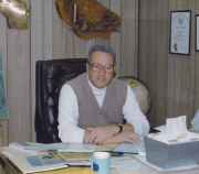 Harry Chaplin at his Sheboygan County Airport office