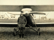 Ed Hedeen at Air City, Sturtevant, Wisconsin ca 1927