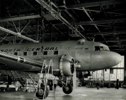 North Central Airlines DC-3 maintenance