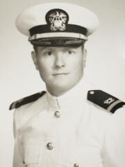 Ensign Robert Kunkel, ca 1966