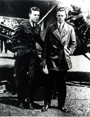 Maitland with another famous pilot of 1927