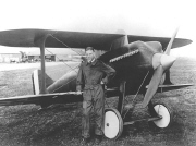Lt Lester Maitland and the Curtiss R-6