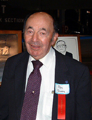 Roy Shwery at the 2003 Induction Ceremony