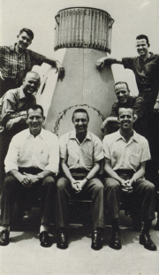 Mercury Astronauts with Deke Slayton at lower left