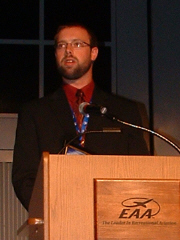 Luke Van Lanen, 2006 Theissen Field Scholarship recipient