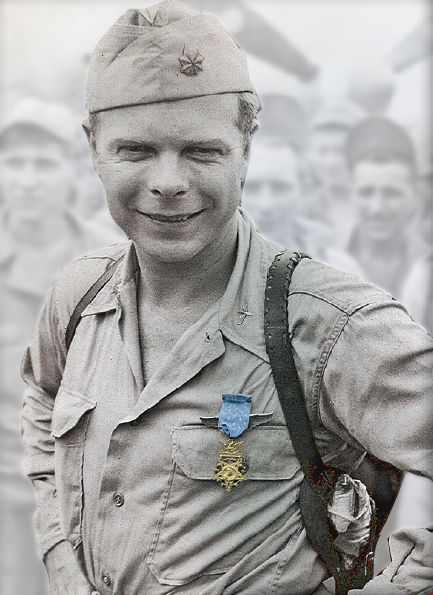 Bong with Medal of Honor
