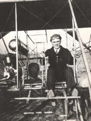 Jesse Brabazon learning to fly in Wright