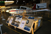 Warner-Curtiss exhibit at Blackhawk Technical College Aviation Center