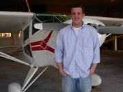 Ryan Johnson, 2008 Jerome Ripp Memorial Scholarship recipient