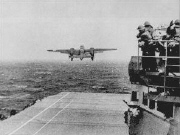 Doolittle Raiders takeoff April 18, 1942