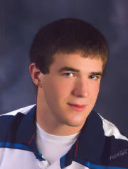 Tyler Rockenfield, 2010 recipient Jerome Ripp Memorial Scholarship